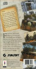 Myst 3DO Back Cover
