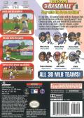 Backyard Baseball GameCube Back Cover