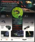 Freespace 2: Interplay 20th Anniversary Edition Windows Back Cover
