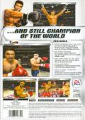 Knockout Kings 2002 PlayStation 2 Back Cover