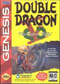 Double Dragon V: The Shadow Falls Genesis Front Cover
