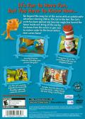 Dr. Seuss' The Cat in the Hat PlayStation 2 Back Cover