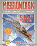 Su-27 Flanker Mission Disk Windows Front Cover
