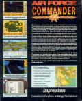 Air Force Commander DOS Back Cover