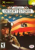 Conflict: Desert Storm Xbox Front Cover