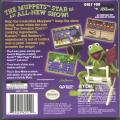 The Muppets: On with the Show Game Boy Advance Back Cover