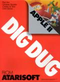 Dig Dug Apple II Front Cover