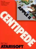 Centipede Apple II Front Cover