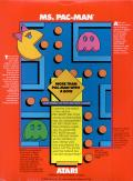 Ms. Pac-Man Apple II Back Cover