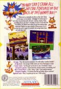 Bubsy in: Claws Encounters of the Furred Kind Genesis Back Cover