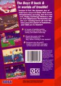 ToeJam & Earl in Panic on Funkotron Genesis Back Cover