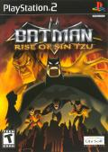 Batman: Rise of Sin Tzu PlayStation 2 Front Cover