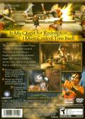 Prince of Persia: The Sands of Time PlayStation 2 Back Cover