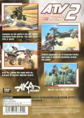 ATV: Quad Power Racing 2 PlayStation 2 Back Cover