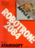 Robotron: 2084 Apple II Front Cover