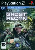 Tom Clancy's Ghost Recon: Jungle Storm PlayStation 2 Other Keep Case (Front)