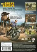 The Great Escape PlayStation 2 Back Cover