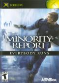 Minority Report: Everybody Runs Xbox Front Cover