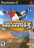Tony Hawk's Pro Skater 3 PlayStation 2 Front Cover