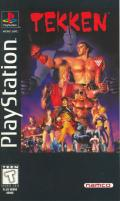 Tekken PlayStation Front Cover