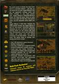 Jagged Alliance 2: Gold Pack Windows Back Cover