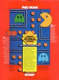 Pac-Man Apple II Back Cover
