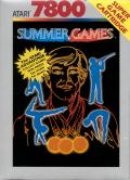 Summer Games Atari 7800 Front Cover