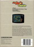 Mr. Do!'s Castle ColecoVision Back Cover