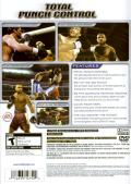 Fight Night 2004 PlayStation 2 Back Cover