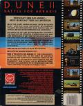 Dune II: The Building of a Dynasty DOS Back Cover German back cover. Front is identical to UK cover