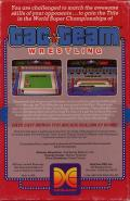 Tag Team Wrestling Commodore 64 Back Cover