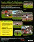Microsoft International Soccer 2000 Windows Back Cover