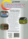 Contra NES Back Cover