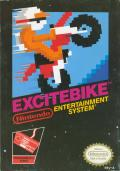Excitebike NES Front Cover