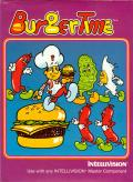 BurgerTime Intellivision Front Cover
