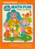 The Electric Company Math Fun Intellivision Front Cover