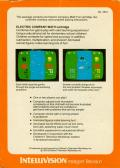 The Electric Company Math Fun Intellivision Back Cover