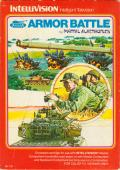 Armor Battle Intellivision Front Cover