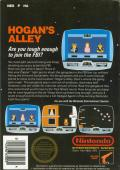 Hogan's Alley NES Back Cover