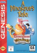 A Dinosaur's Tale Genesis Front Cover