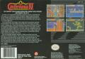Super Castlevania IV SNES Back Cover