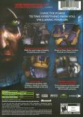 Thief: Deadly Shadows Xbox Back Cover