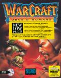 WarCraft: Orcs & Humans DOS Front Cover W/ awards sticker