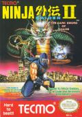 Ninja Gaiden II: The Dark Sword of Chaos NES Front Cover