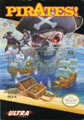 Sid Meier's Pirates! NES Front Cover