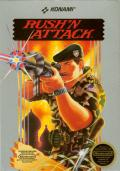 Rush'n Attack NES Front Cover