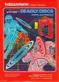 TRON: Deadly Discs Intellivision Front Cover