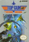 Top Gun: The Second Mission NES Front Cover