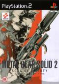 Metal Gear Solid 2: Sons of Liberty PlayStation 2 Front Cover