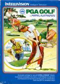 PGA Golf Intellivision Front Cover